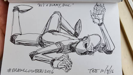 9 He's a Dummy Doll by Thastygliax