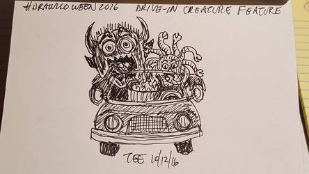 15 Drive-In Creature Feature by Thastygliax