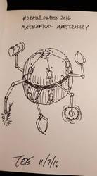 24 Mechanical Monstrosity by Thastygliax
