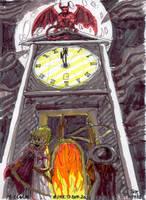 Day 14: Clock by Thastygliax