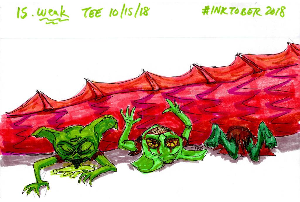 Day 15: Weak by Thastygliax