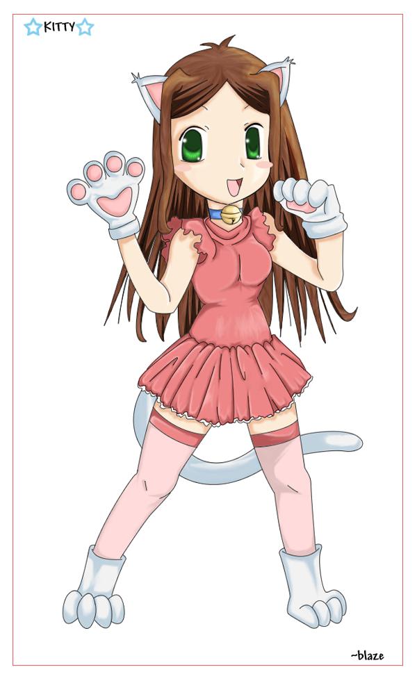 Kitty Kat by blazin-yukasho