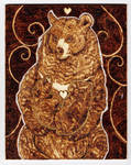 Mother Moon Bear