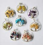 Sterling Silver Tree Pendants