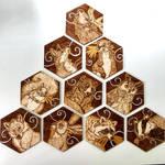 Woodland Animal Coasters by BumbleBeeFairy