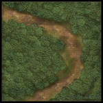 Forest Roads: Bend in the Road [Grid]