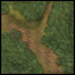 Forest Roads: Forest Path [Grid]
