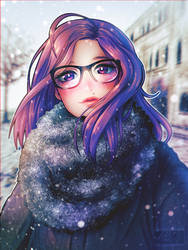 Snowy by Tsiox