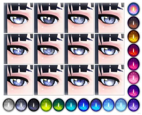 VRoid Galaxy Eyes [DL]