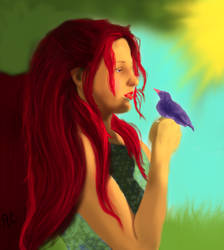 Hello Little Bird by Twilight-Lover-95