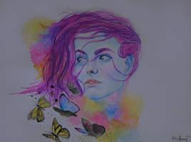 A breeze of butterflies