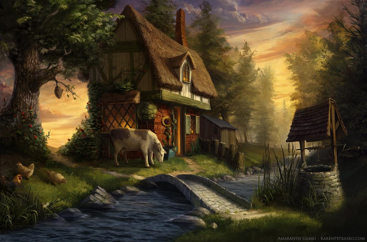 Woodland Cottage By KPetrasko