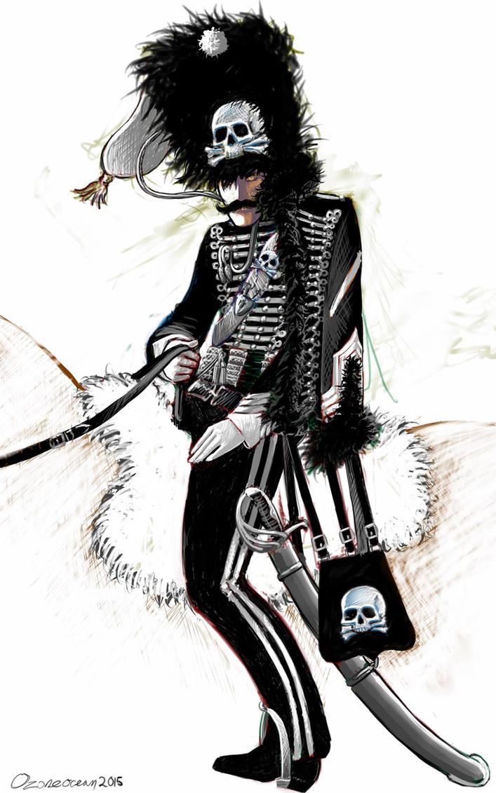 Death's Head Hussar by ozoneocean
