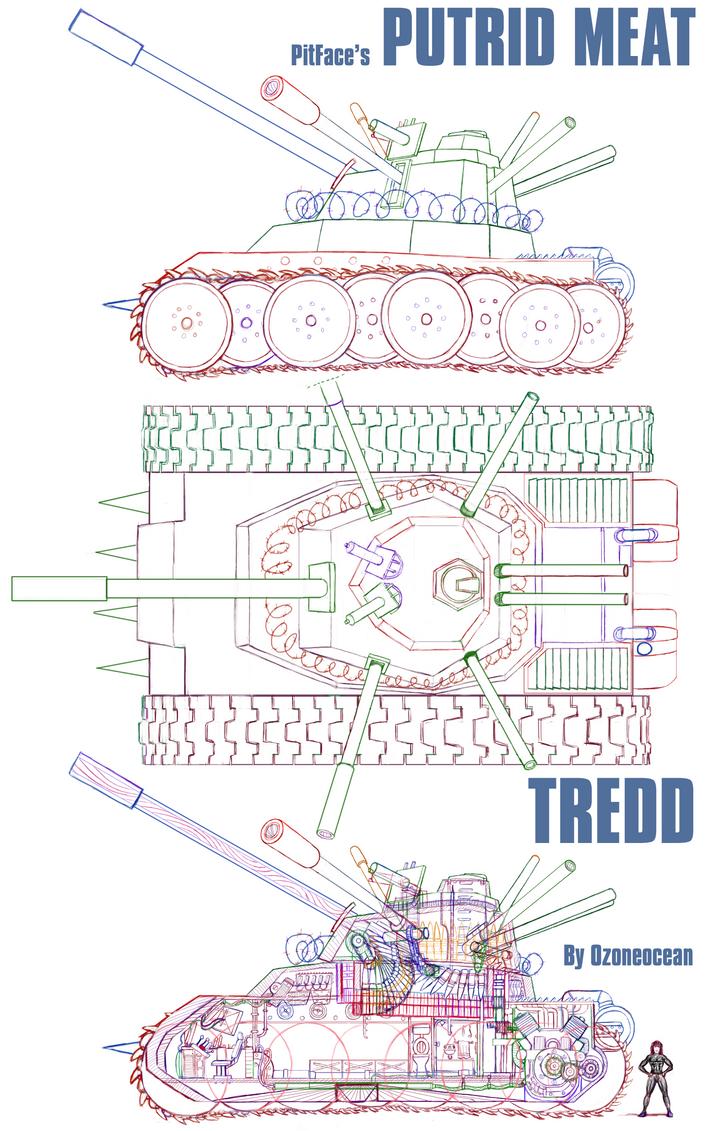 TREDD TANK by ozoneocean