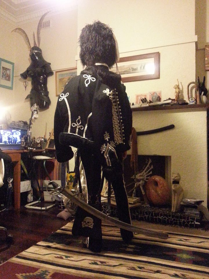 Death's head hussar uniform pic4 by ozoneocean