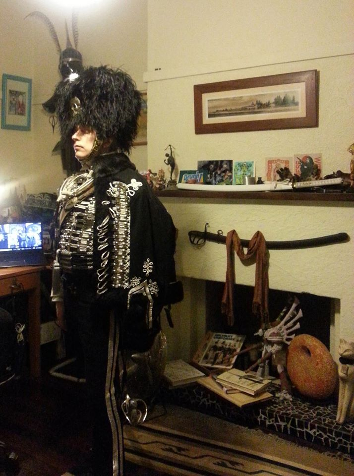Death's head hussar uniform pic6 by ozoneocean