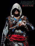 Edward Kenway promotional cover - real life