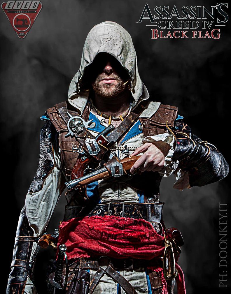 Blackflag live render - Edward kenway by eyes1138