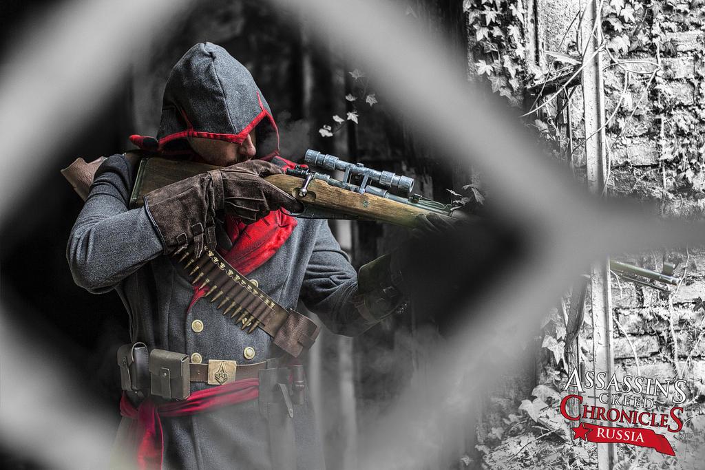 Nicolai Orelov shooting - Cosplay by eyes1138