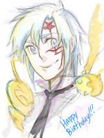 Happy Birthday Allen by DarkMousyR