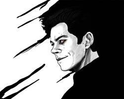 TeenWolf:Black and White by DarkMousyR