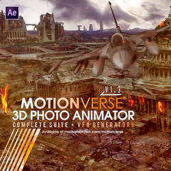 MotionVerse - 3D Photo Animator and VFX Suite by mrcharlesbrown