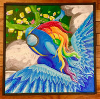 Fall from the sky Color Sceem Painting by ColorSceemPainting