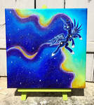 Into the nighht Color Sceem Painting 1 by ColorSceemPainting