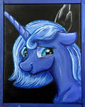 Yound Luna Color Sceem Painting  by ColorSceemPainting