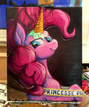 Princess Pie Color Sceem Painting  by ColorSceemPainting