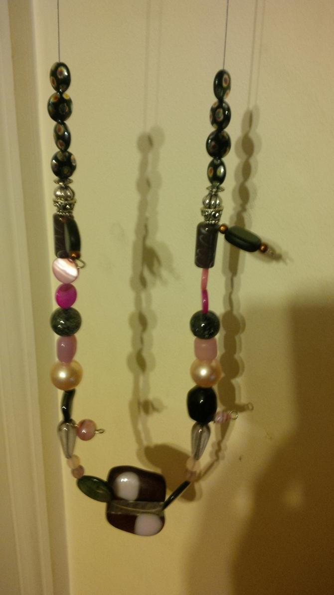 glass necklace by foxfire1