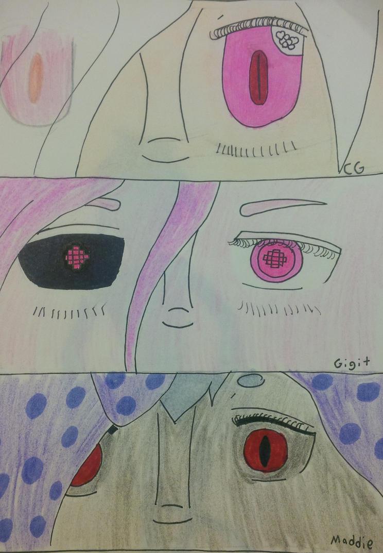 Ocs eyes by foxfire1
