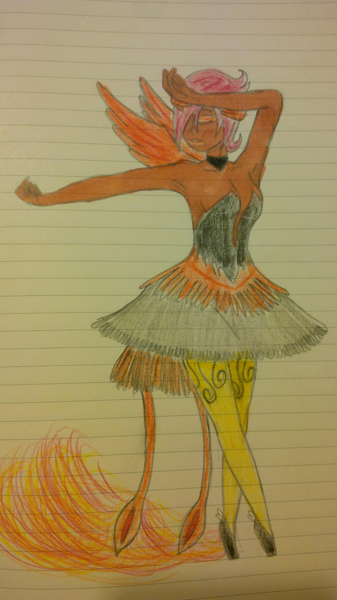 Ballerina Bird by foxfire1