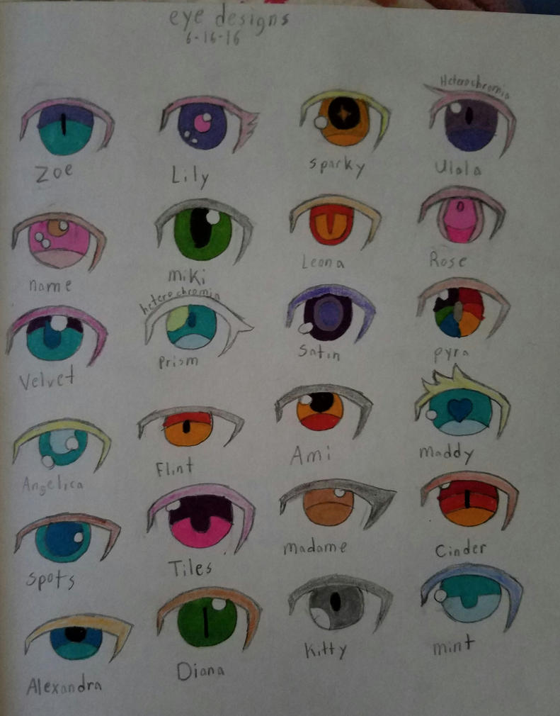 Eye designs 3 by foxfire1