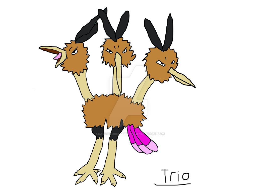 Trio by XxAsrielDreemurrXx