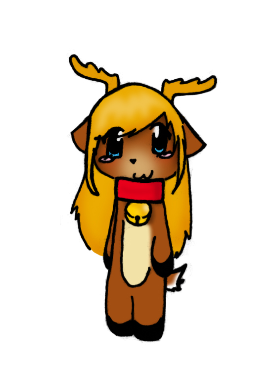 Deer Girl by Currykat