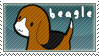 beagle stamp by Currykat