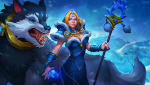 Dota 2 - Crystal Maiden Frost Avalanche