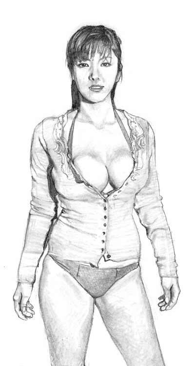 Harumi Nemoto Sketch