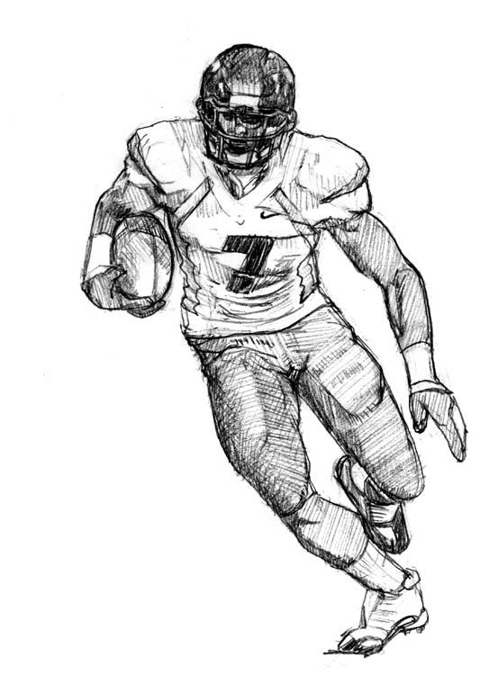Football sketches