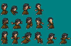 Small Sheet: Monk Erk by FNTO