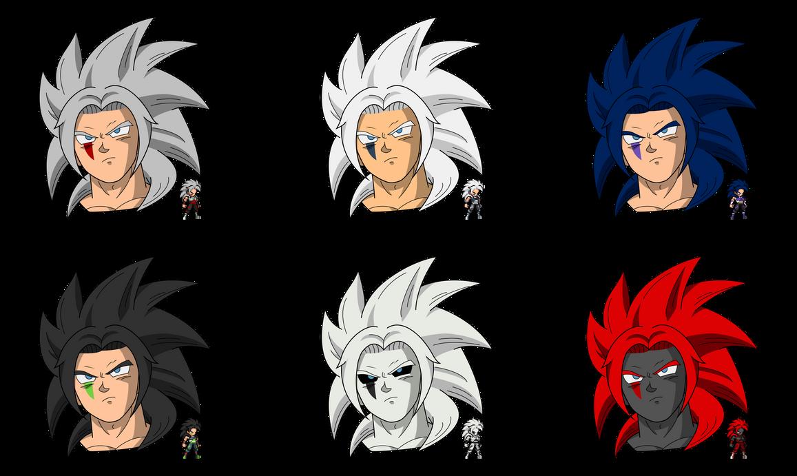 Zenzaku Alternate Palettes by FNTO