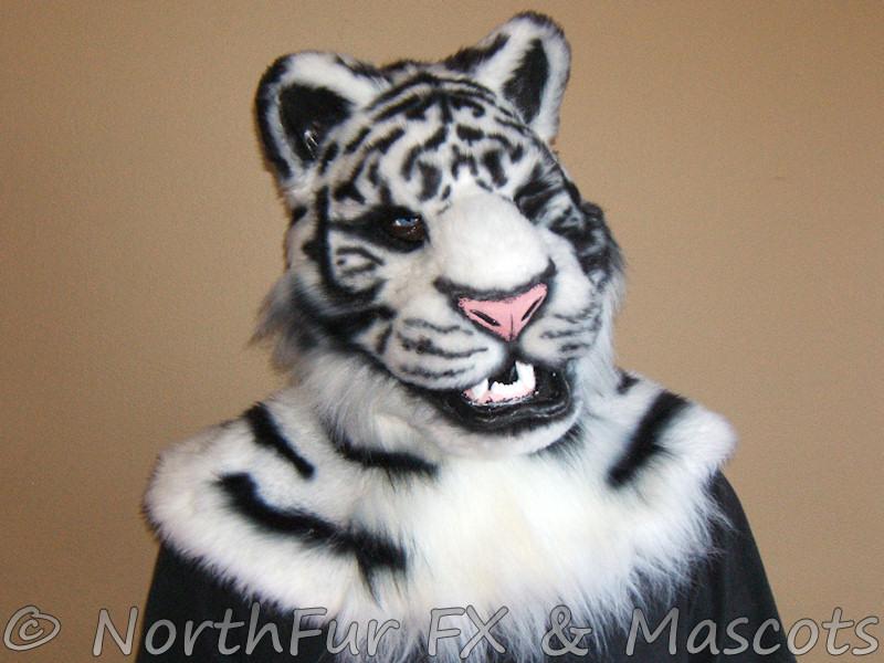 Tiger Head Mask