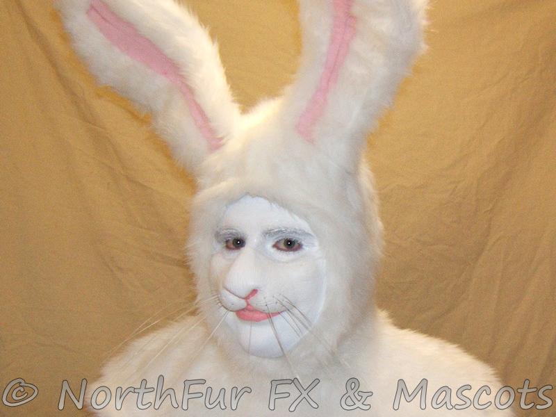 Rabbit Nose Prosthetic by sjgarg