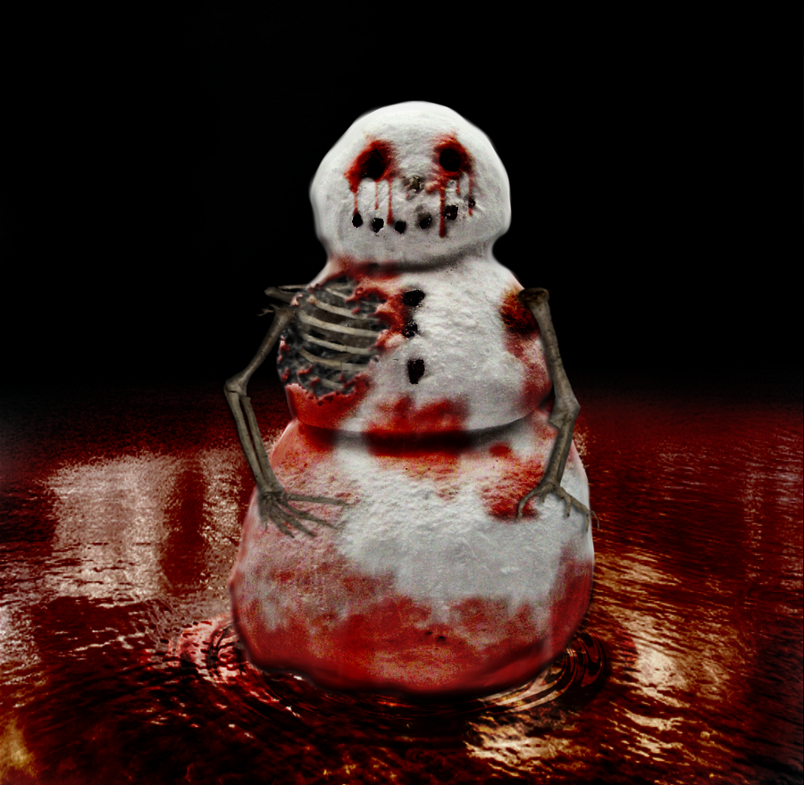 Bloody Snowman Into The River By VelmaGiggleWink On DeviantArt