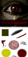 Eye of Zombie Pack and Tutorial
