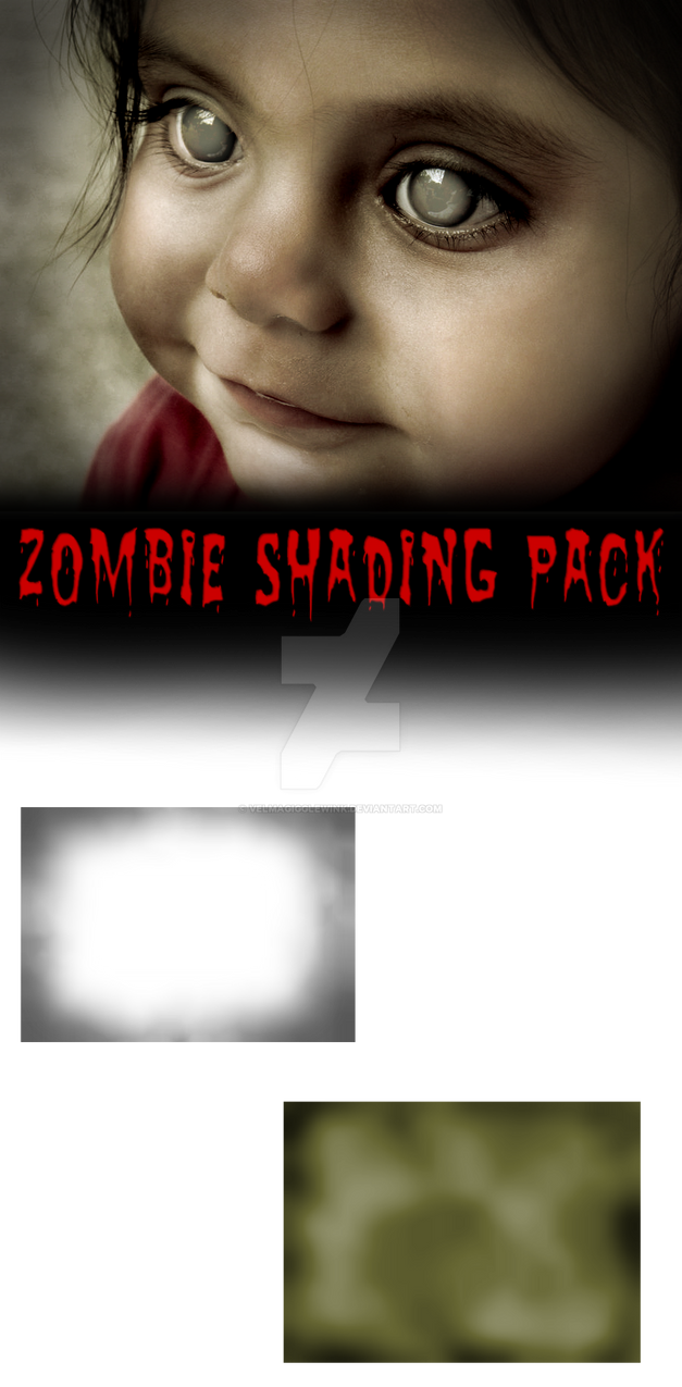 Zombie Shading Pack And Tutorial by VelmaGiggleWink