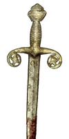 FREE PNG Trusty Old Rusty Bloody Dagger!