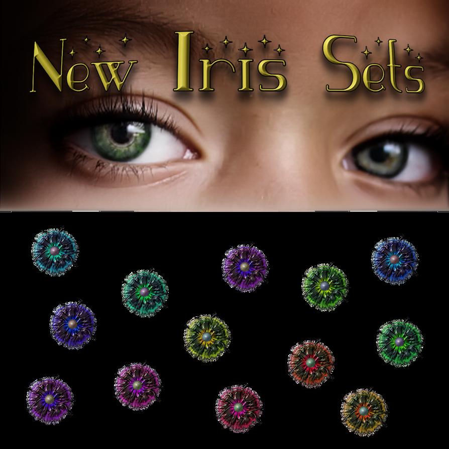 New Iris Sets 1 by VelmaGiggleWink