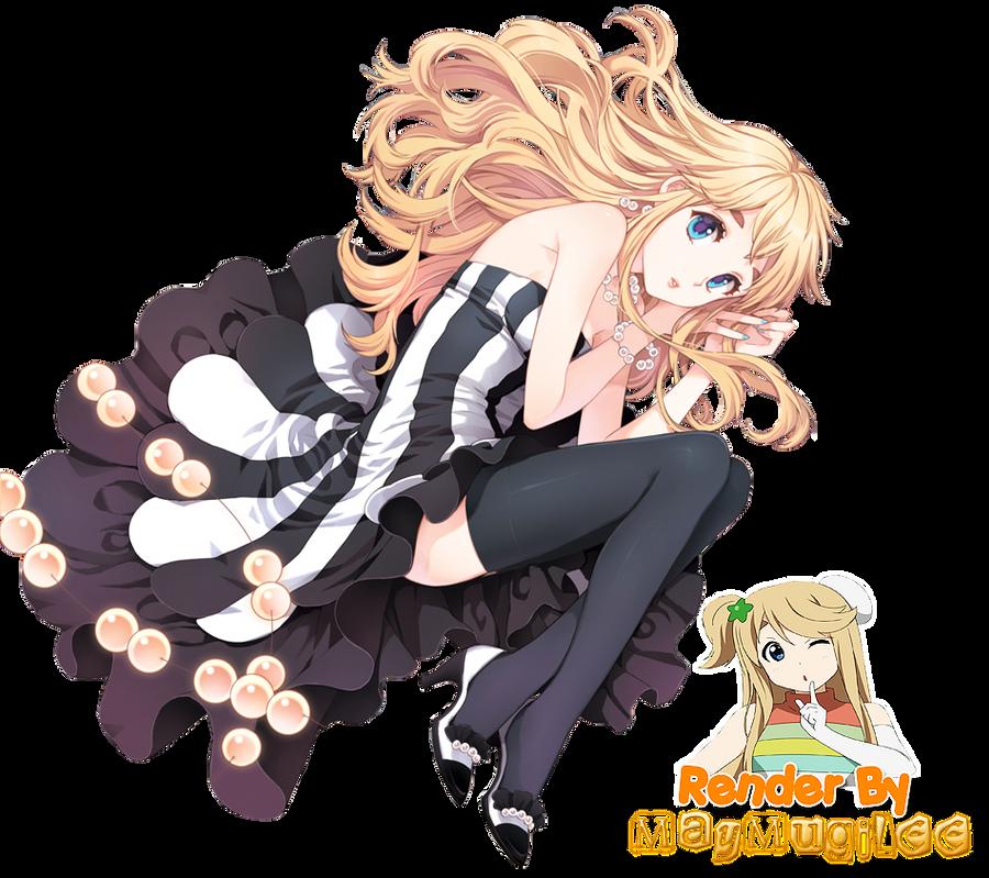Tsumugi Cute Dress Render by MayMugiLee